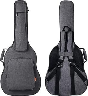 CAHAYA Funda de Guitarra Universal [Última Versión Reforzada] Bolsa Guitarra Acolchada 18mm con 5 Bolsillos para Guitarra Acústica Clásica