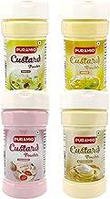 Puramio Custard Powder Combo (Vanilla, Strawberry, Mango & Butterscotch), 100g Each
