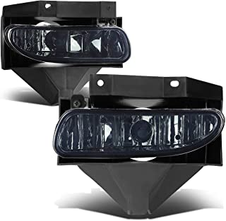 For Ford Mustang New Edge Pair of Bumper Driving Fog Lights (Smoke Lens)