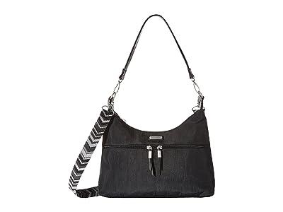 Baggallini Convertible Medium Hobo (Black Multi) Hobo Handbags