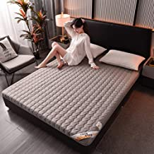 Japanese Floor Mattress Twin,Cotton Japanese Quilting Futon Mattress,Tatami Floor Mat Roll Up Sleeping Mats,Non-Slip Futon...
