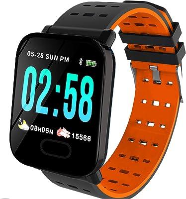 Toreto Activity Tracker, Bluetooth - Black,Orange