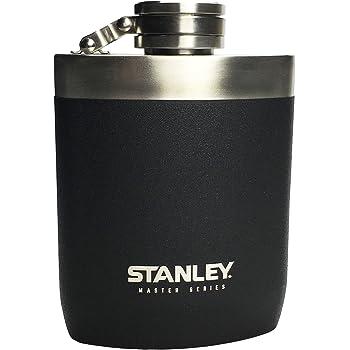 STANLEY(スタンレー) マスターフラスコ 0.23L マットブラック スキットル ギフト ウイスキー (日本正規品) 【新旧ロゴ】