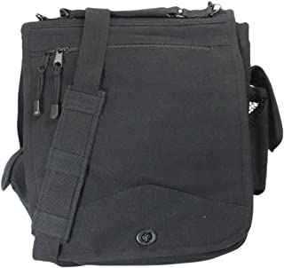 Canvas M-51 Engineers Field Bag, Black