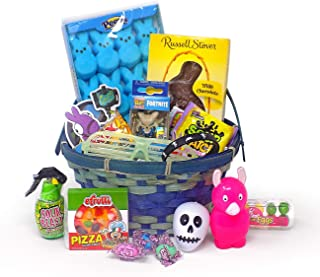 Popular Video Game Themed Easter Toy Candy Gift Bunny Basket Gamer