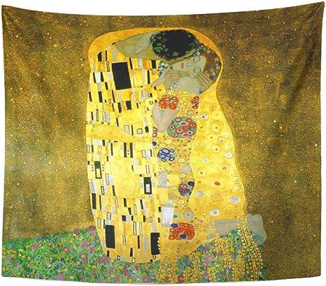 Paintings modern furniture POSTER The Kiss Gustav Klimt Art Art Nouveau Liberty