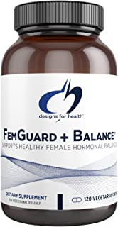 Designs for Health FemGuard Balance - Supports Healthy Female Hormonal Balance + Estrogen Metabolism - Women's Formula - F...