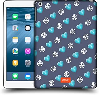 Official Emoji Hearts and Swirls Winter Patterns Hard Back Case Compatible for Apple iPad Air (2013)