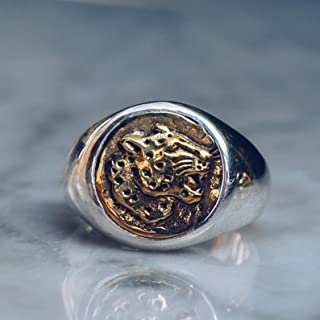 versace pinky ring