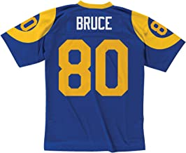 Mitchell and Ness Isaac Bruce St. Louis Rams 1999 Throwback Replica Jersey