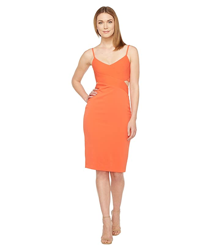 22507213 Laundry by Shelli Segal Stretch Crepe Cocktail Dress at 6pm