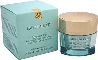 Estee Lauder Women's Nightwear Plus Anti-Oxidant Night Detox Creme, All Skin Types, 1.7 Ounce