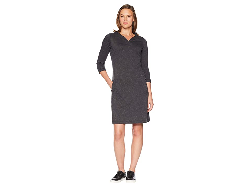 Royal Robbins Geneva Ponte Dress (Charcoal Heather) Women