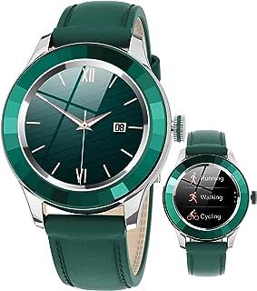 Smartwatch Smart klocka för kvinnor, Fitness Tracker med kvinnlig hälsoövervakare, Hjärtfrekvens Blodtryck Sova Blood Oxyg...