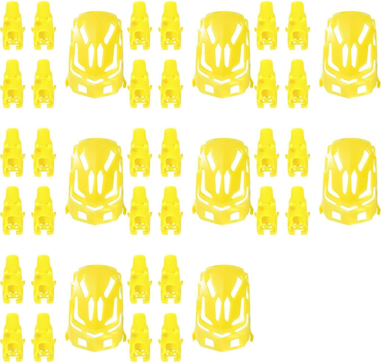 8 x Quantity of Estes PredoX Nano Body Shell H11101 Yellow Quadcopter Frame w  Motor supports  FAST FREE SHIPPING FROM Orlando, Florida USA
