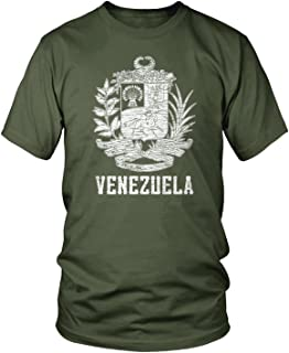 Men's Venezuelan Coat of Arms, Venezuela Crest T-Shirt