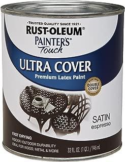 Rust-Oleum 242018 Painters Touch Quart Latex, Satin Espresso