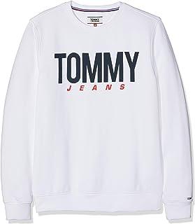 Tommy Jeans TJM Essential Logo Crew Men's Sweatshirt