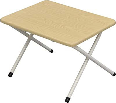 エイ・アイ・エス(AIS) 折りたたみローテーブル 幅50cm ナチュラル OT-500