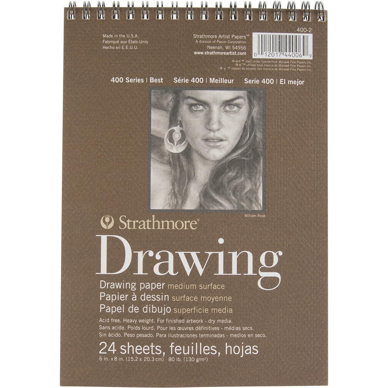 Strathmore 400-2 400 Series Drawing Pad, 6