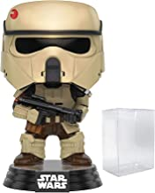 Funko Pop! Star Wars: Rogue One - Scarif Shoretrooper #145 Vinyl Figure (Includes Compatible Pop Box Protector Case)
