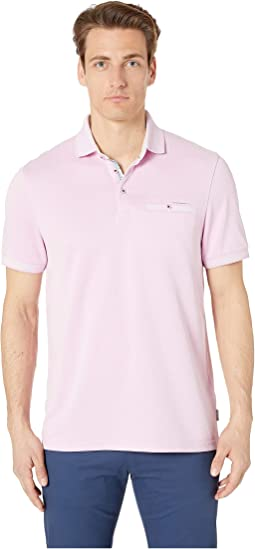 a8b4babf6 Ted Baker. Plaza Short Sleeve Polo Shirt.  115.00. Pink