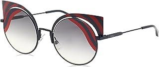 نظارات شمسية نسائية من فيندي 53 ملم عين القطة
