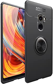حافظة FanTing لجهاز Xiaomi Mi Mix 2، 360 درجة قابل للتعديل حلقة دوارة، متوافق مع حامل سيارة مغناطيسي، غطاء مقاوم للزلال Xi...