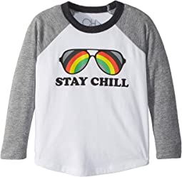 Extra Soft Jersey Stay Cool Baseball Tee (Toddler/Little Kids)