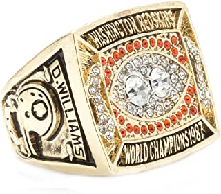 ZNKVJ The Year 1987 Washington Redskins Men's Championship Rings