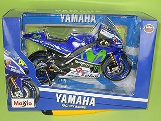Maisto M31408 - Moto para Bicicleta de FIAT Yamaha Moto GP 2016 (Escala 1:10)