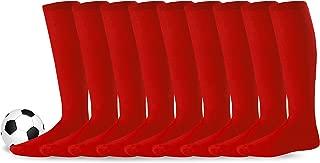 Acrylic Unisex Soccer Sports Team Cushion Socks 9 Pack