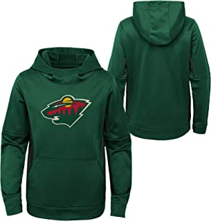 OuterStuff Youth NHL Minnesota Wild Performance Hoodie Youth Sizing (Youth L (14/16))