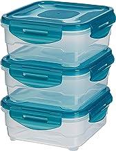 AmazonBasics: Juego de almacenamiento de comida de 3
