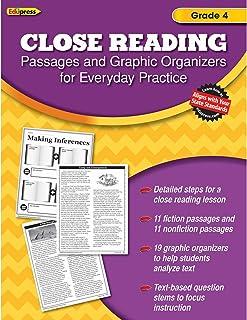 Close Reading Practice Book Grade 4: Grade 4