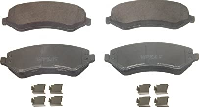 Wagner ThermoQuiet QC856A Ceramic Disc Pad Set With Installation Hardware, Front