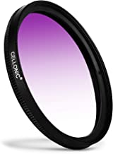 CELLONIC   Graduated color filter Purple compatible with Sony 67mm Gradient Filter