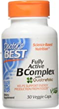Doctor's Best Best Fully Active B Complex, Veggie Capsules 30 ea