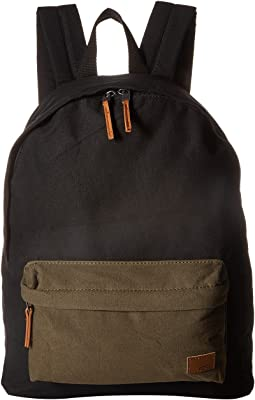 Roxy Sugar Baby Canvas Color Block Backpack