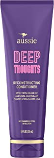 Sponsored Ad - Aussie Deep Thoughts Reconstructing Conditioner, Triple Oil Blend of Avocado, Australian Jojoba and Macadam...