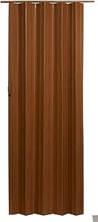 LTL Home Products VS3280FL Via Accordion Folding Door, 24-36 x 80 Inches, Fruitwood