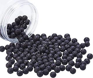 Ónice Negro Mate Brasil suelto bolas de piedra natural para la fabricación de joyería 6mm 8mm 10mm