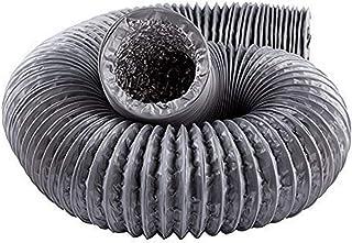 Portátil manguera de escape de aire acondicionado 5m / 10m Tubo de escape de aluminio Ventilador flexible conductos de ventilación conducto de ventilación manguera de ventilación de la vivienda