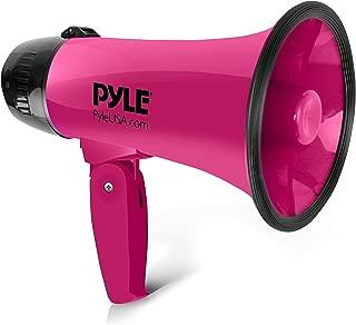pink cheerleading megaphone