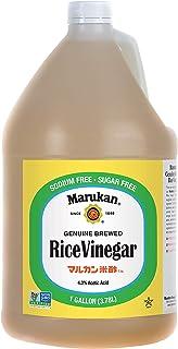 Marukan Genuine Brewed Rice Vinegar, 1 Gallon (Pack of 1)