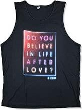 Cher Do You Believe Black Tank Top Shirt