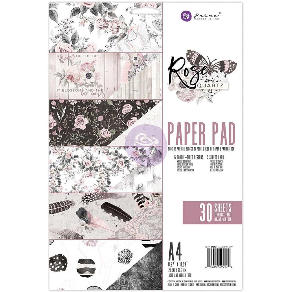 Prima Marketing A4 Paper Pad - Rose Quartz