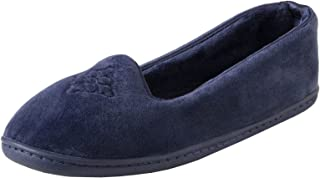 Women's Rebecca Microfiber Velour Closed Back Slipper