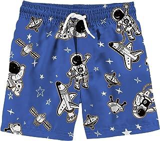uideazone Boys 3D Printed Funny Swim Trunks Quick Dry Beachwear Sports Running Swim Board Shorts
