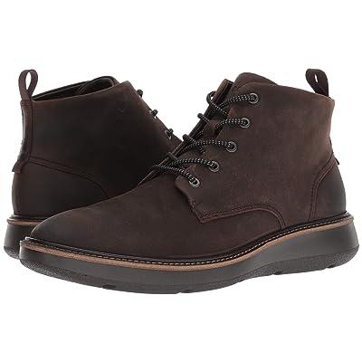 ECCO Aurora Mid Boot (Coffee) Men